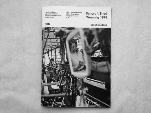 Bacroft Shed Weaving 1976 — Daniel Meadows