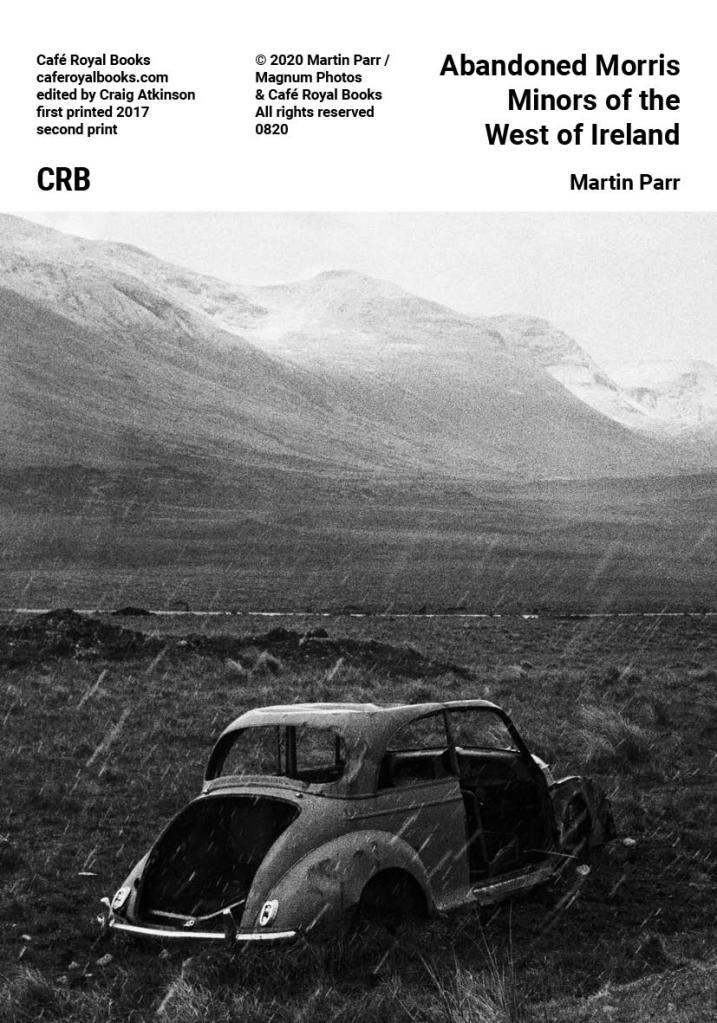 Martin Parr Cafe Royal Books